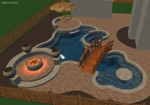 3d designs gallery creative lifestyle pools cypress tx